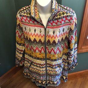 Multiples petite medium lightweight jacket